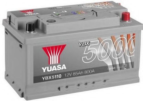 Yuasa 12V 85Ah Silver High Performance Battery YBX5110 (0)  арт. YBX5110