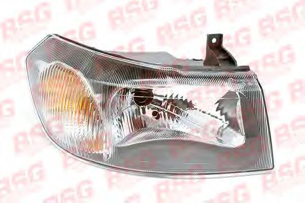 Фара F. Transit 00-06 ПР. (темн. отражатель+моторчик)  арт. BSG30800003