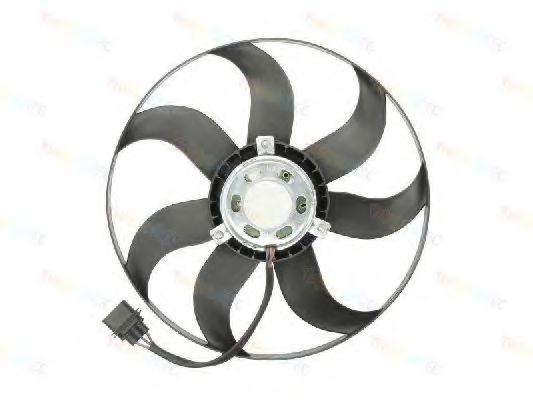 Вентилятор радіатора Skoda Fabia 1.2-1.9TDI 03-/VW Polo 1.9 TDI 01- THERMOTEC D8W029TT