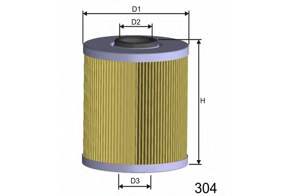 Фильтр топлива RENAULT MEGANE/CLIO/LAGUNA 1.9TDI 11/95-  арт. F686