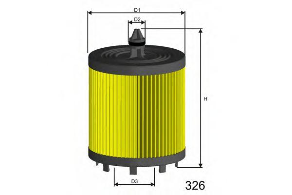 Фильтр масла OPEL ANTARA, ASTRA G, ASTRA GTC J, GT, INSIGNIA, SIGNUM, VECTRA B, VECTRA C 1.9-2.4 00-  арт. L024