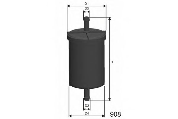 Топливный фильтр  арт. E562