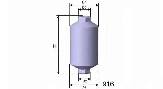 Топливный фильтр  арт. E502