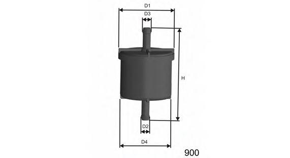 Фильтр топлива FORD 1.3-2.5 92-  арт. E514
