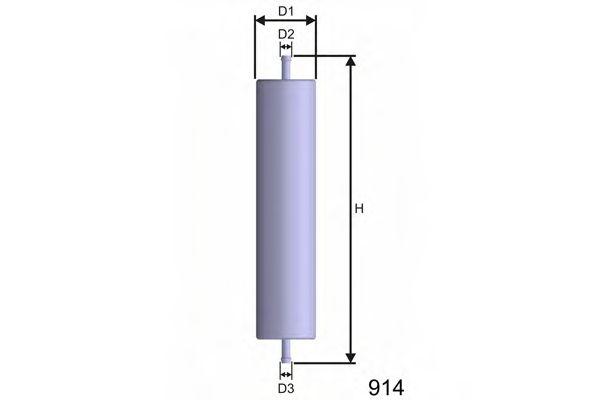 Топливный фильтр  арт. E508