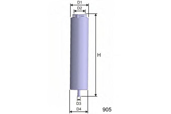 Фільтр паливний Bmw E90/91/92/60/61/65/66 03-  арт. E101