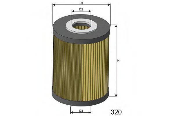 Топливный фильтр  арт. F627