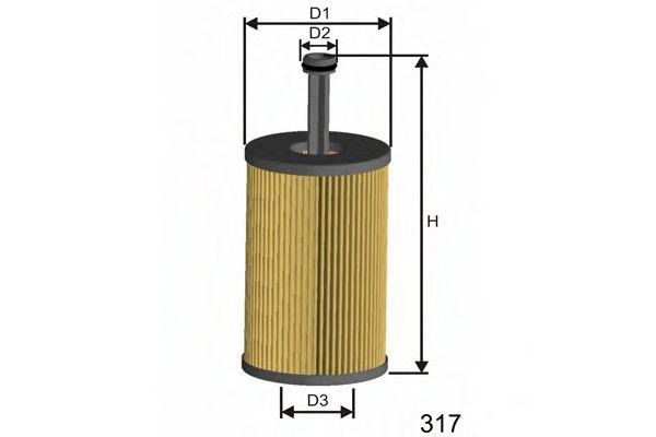 Масляный фильтр  арт. L105