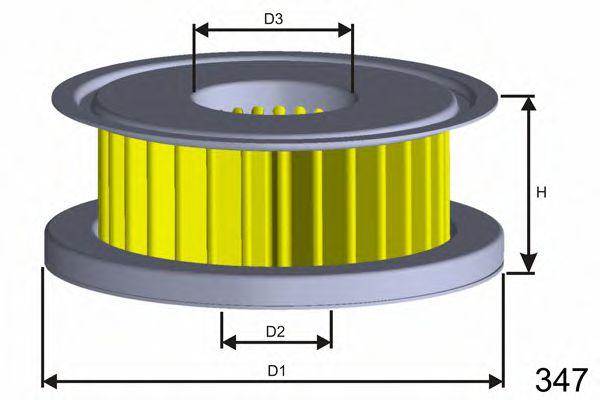 Фільтр гідропідсилювача керма DB 190 (W201), C (W202, S202), E (W124, S124), G (W460, W461, W463), T1 (602), W123, W124 MISFAT L118