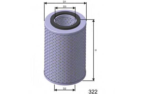 Фільтр масляний Bmw 3/5 1.6/1.8 88-95 E30/36/34  арт. L541