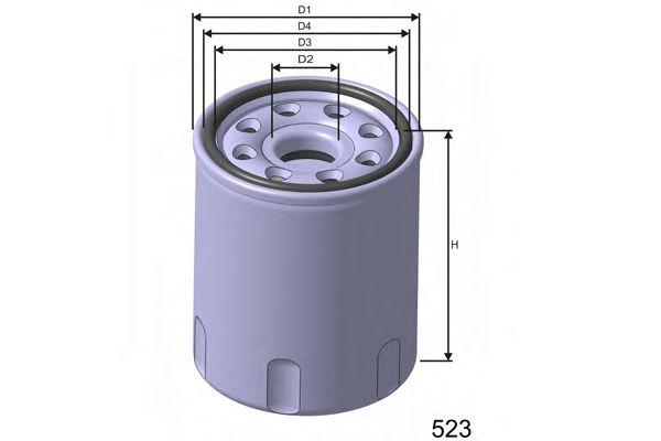 Фільтр масляний Chevrolet Aveo 1.2 08-  арт. Z693