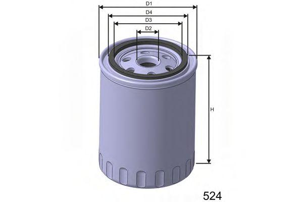 Фильтр масла FIAT DUCATO 2.3JTD 2002-  арт. Z629
