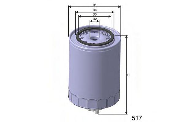 Паливний фільтр Iveco EuroCargo 94- MISFAT M500