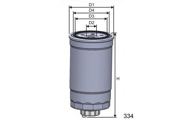 Топливный фильтр  арт. M351A