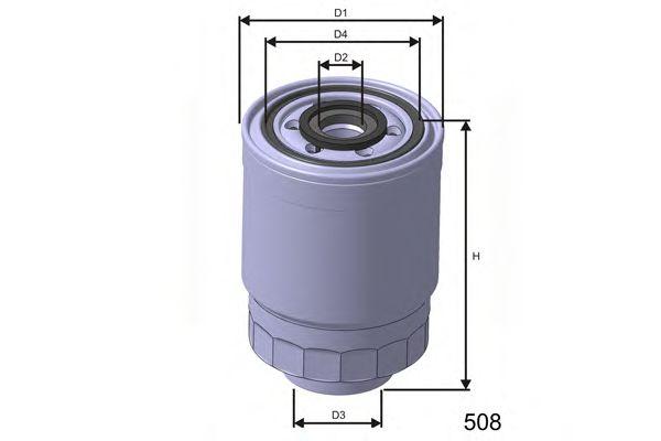 Фільтр паливний Hyunday 2.5d/td/Mazda 323/Mitsubishi Colt  арт. M366