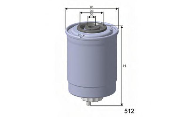 Топливный фильтр  арт. M408