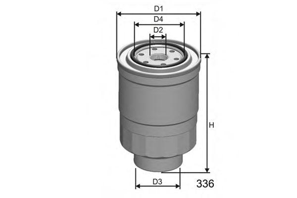 Топливный фильтр  арт. M411