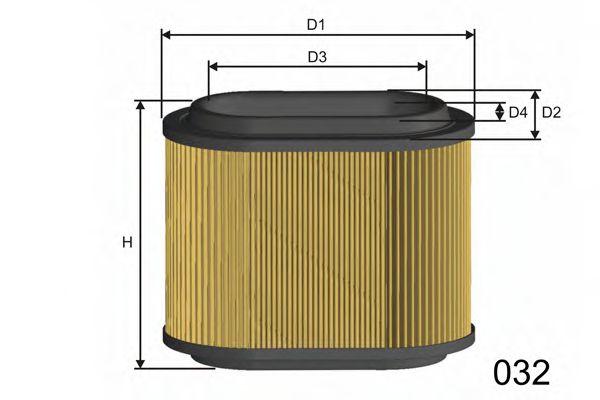 Фильтр воздушный Hyundai  арт. R429
