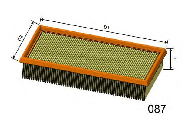 Воздушный фильтр  арт. P146