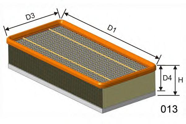 Воздушный фильтр  арт. P449