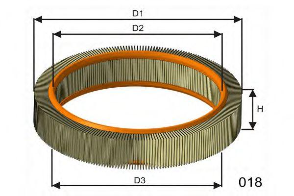 Воздушный фильтр  арт. P803