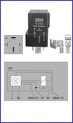 Контроллер / реле свічок накал  арт. 132060