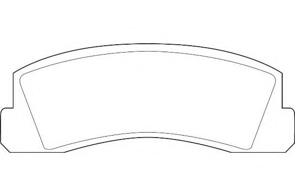 Тормозные колодки  Lada 2121 Wagner  арт. WBP20660A