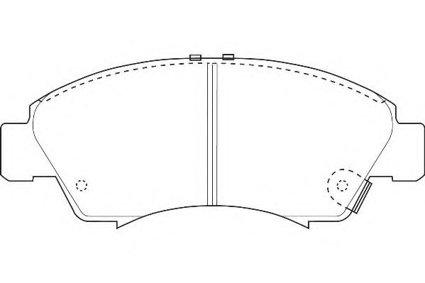 Тормозные колодки Wagner  арт. WBP21697A