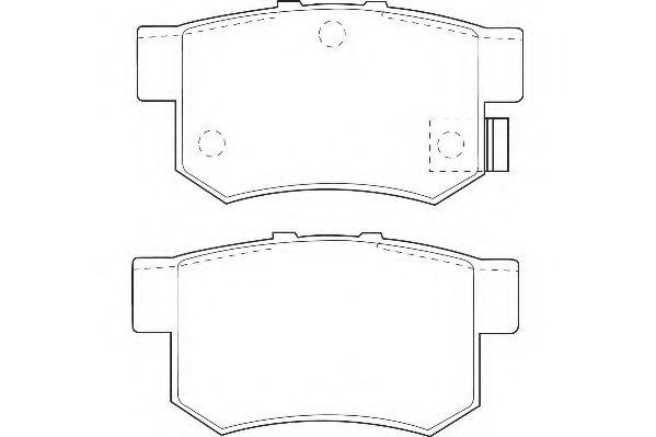 Тормозные колодки Wagner  арт. WBP21719A