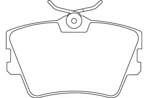 Тормозные колодки Wagner WAGNER WBP21882A