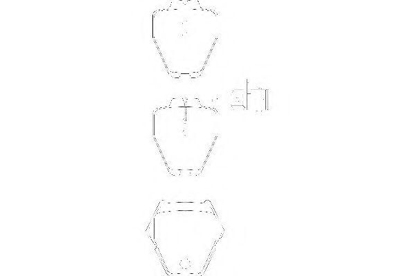 Тормозные колодки Wagner WAGNER WBP23119A