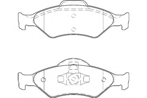 Тормозные колодки Wagner  арт. WBP23200A
