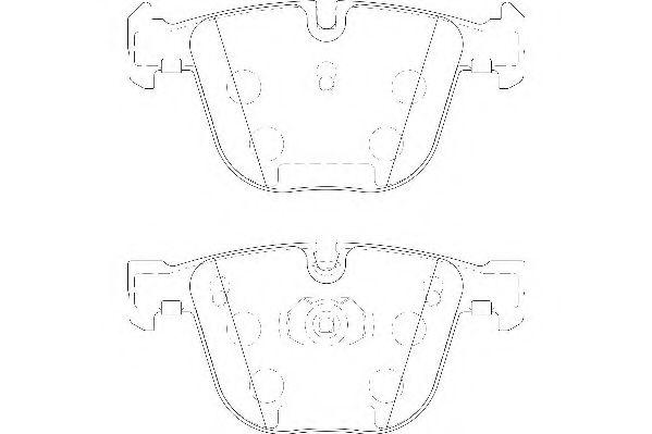 Тормозные колодки Wagner  арт. WBP23309A