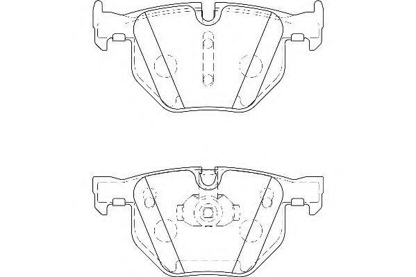Тормозные колодки Wagner  арт. WBP23447A