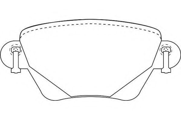 Колодки гальмівні дискові  арт. WBP23557A