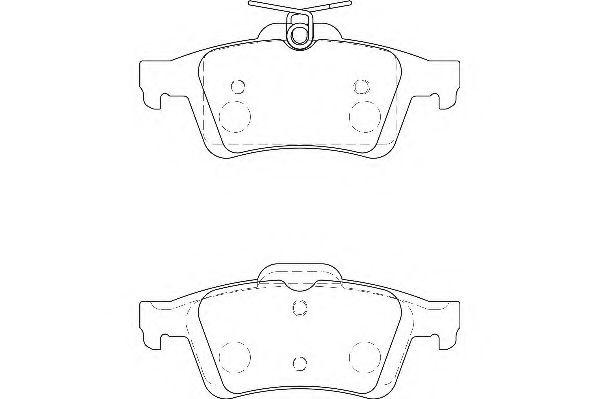 Тормозные колодки Wagner  арт. WBP24136A