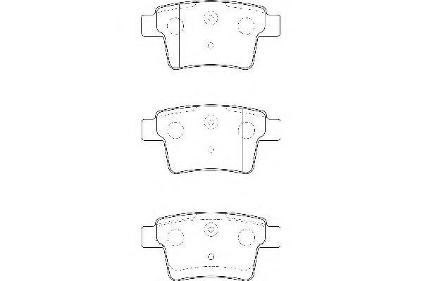 Тормозные колодки Wagner  арт. WBP24260A