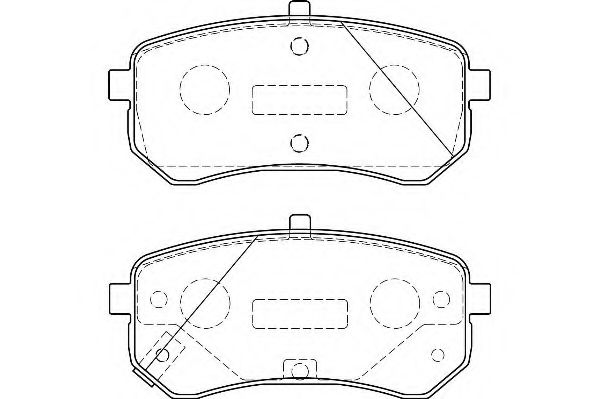 Колодки гальмівні дискові  арт. WBP24276A