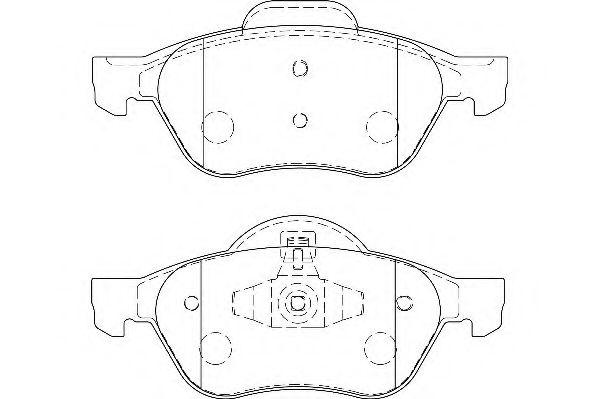 Тормозные колодки Wagner WAGNER WBP24535A