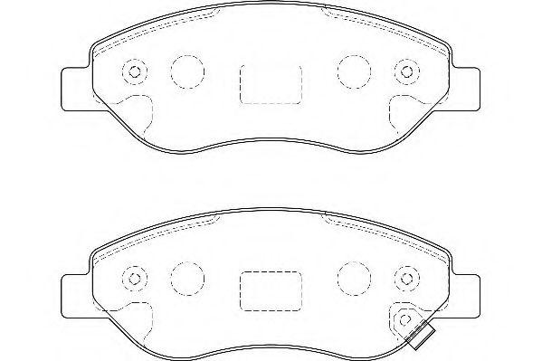 Тормозные колодки Wagner WAGNER WBP24550A
