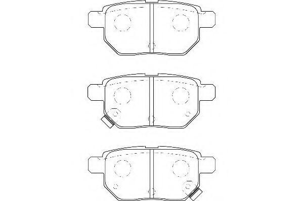 Тормозные колодки Wagner WAGNER WBP24610A
