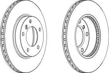 Тормозной диск Wagner  арт. WGR02581