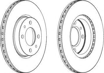 Тормозной диск Wagner  арт. WGR05211