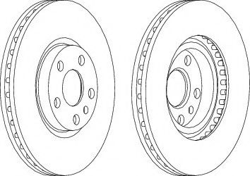 Тормозной диск Wagner  арт. WGR07601