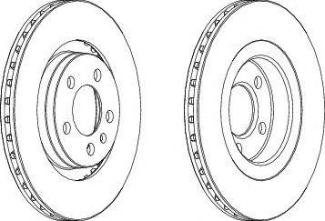 Тормозной диск Wagner WAGNER WGR09281