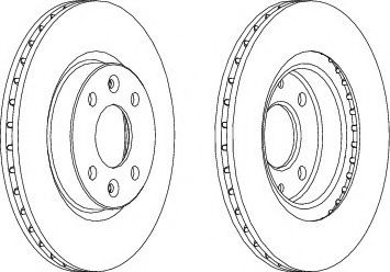 Тормозной диск Wagner  арт. WGR10961