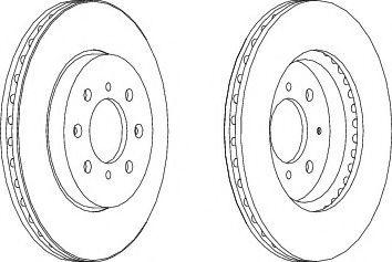 Тормозной диск Wagner  арт. WGR16101