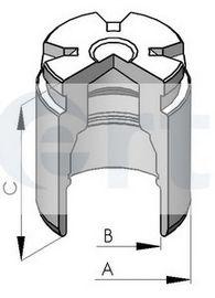 Поршень, корпус скобы тормоза D025120 (пр-во ERT)                                                    в интернет магазине www.partlider.com