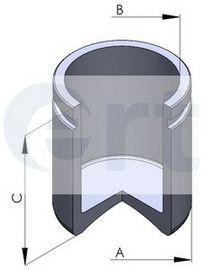 Поршень, корпус скобы тормоза D025129 (пр-во ERT)                                                    в интернет магазине www.partlider.com