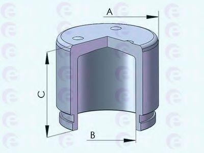 Поршень, корпус скобы тормоза D025426 (пр-во ERT)                                                    в интернет магазине www.partlider.com